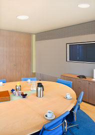 Conference Room with Dimmer Kits